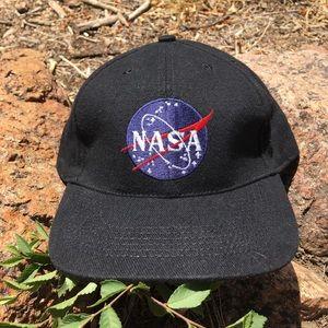 Vintage NASA Embroidered SnapBack Hat
